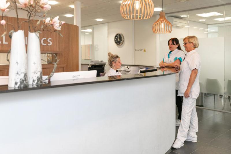 tandartspraktijk Beesd - receptie Dental Clinics Beesd