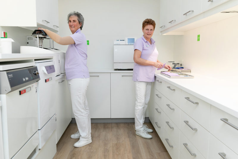 Dental Clinics Eindhoven-sterilisatieruimte