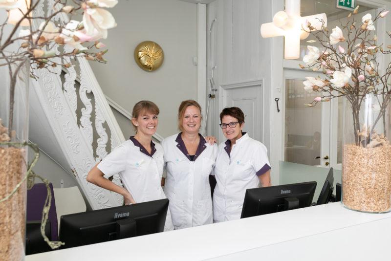 tandartspraktijk Weesp - receptie Dental Clinics Weesp