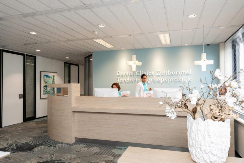 tandarts Zaltbommel - receptie Dental Clinics Zaltbommel