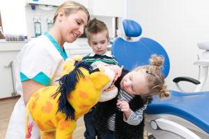 Kinderen en de tandarts