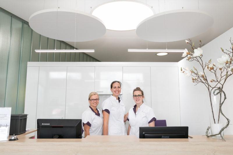tandartspraktijk Oudenbosch - receptie Dental Clinics Oudenbosch