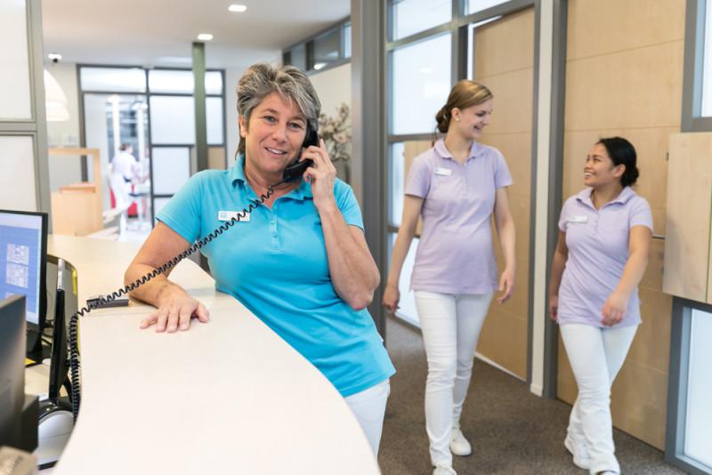 tandartspraktijk Hoogezand - receptie Dental Clinics Hoogezand