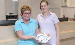 tandartspraktijk Zuidhorn - receptie Dental Clinics Zuidhorn