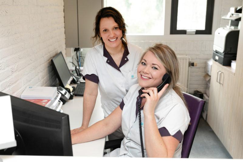 tandartspraktijk Groningen - receptie Dental Clinics Groningen Vinkhuizen