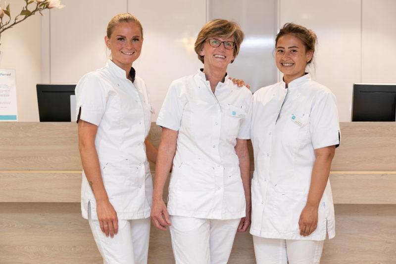 receptie Dental Clinics Den Haag Laan van Meerdervoort