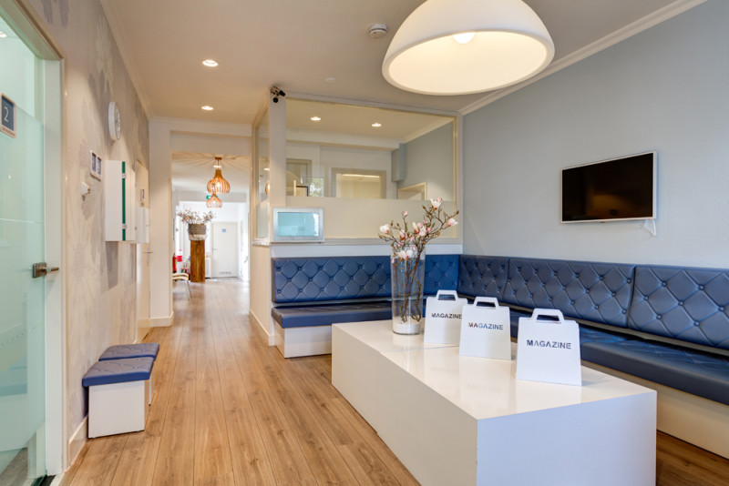 tandarts Koog aan de Zaan - wachtkamer Dental Clinics Koog aan de Zaan