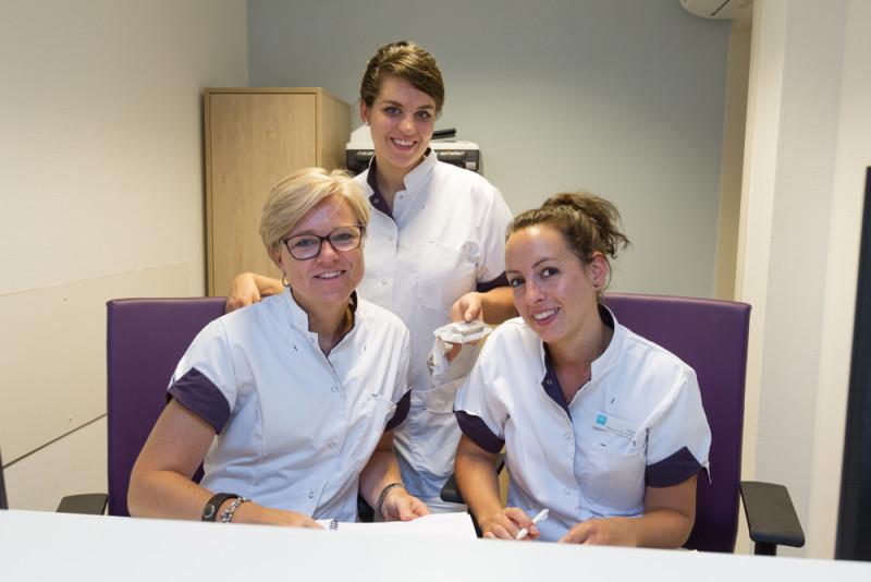 tandartspraktijk Koog aan de Zaan - receptie Dental Clinics Koog aan de Zaan