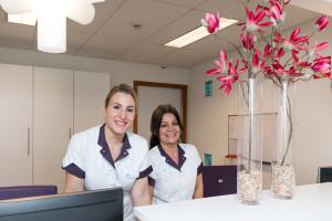 tandarts Almere Perspectief - receptie Dental Clinics Almere Perspectief