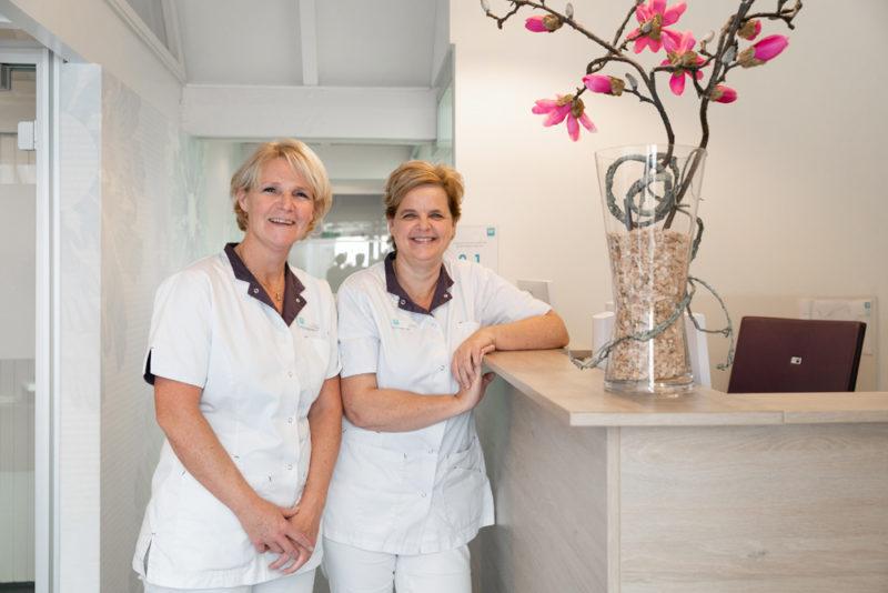 tandartspraktijk Schoonhoven-receptie
