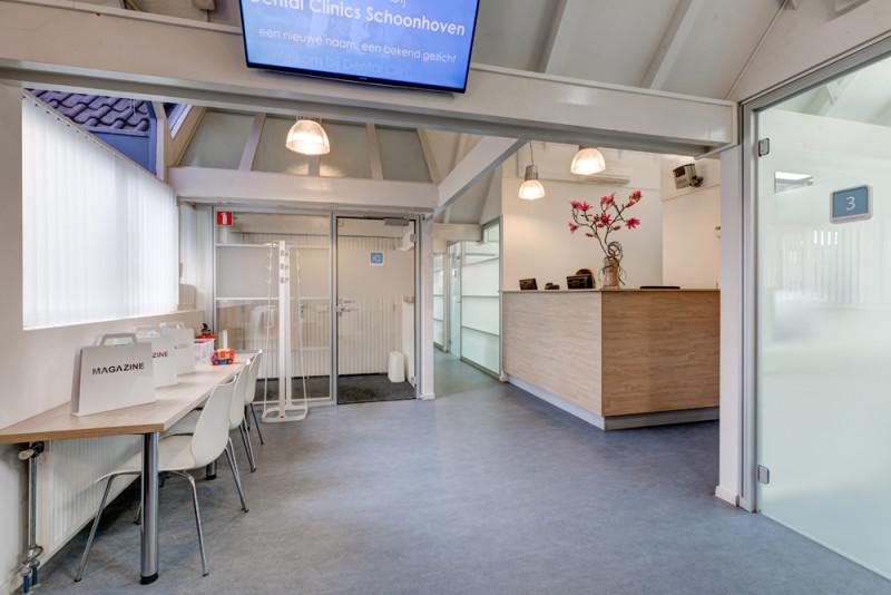 tandartspraktijk Schoonhoven - interieur Dental Clinics Schoonhoven
