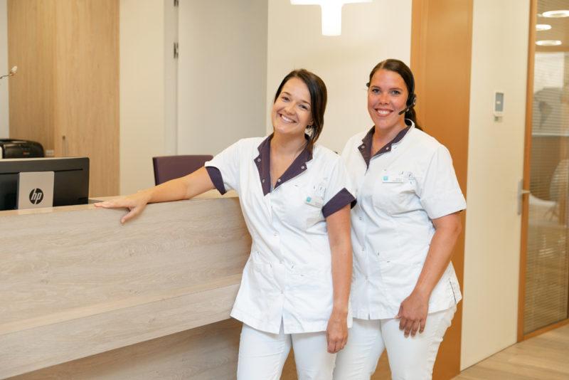 tandartspraktijk Krommenie - receptie Dental Clinics Krommenie