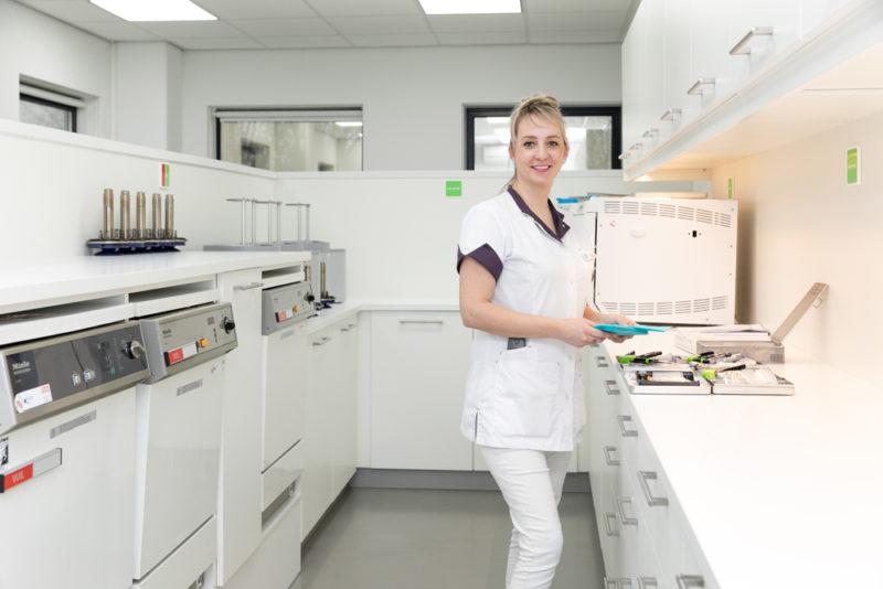 tandarts Nieuwegein - sterilisatieruimte