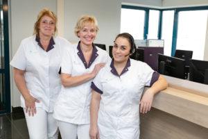 tandartspraktijk Joure - receptie Dental Clinics Joure