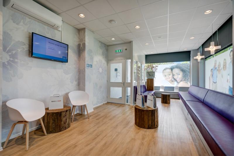 tandarts Utrecht Noordoost - interieur Dental Clinics Utrecht Oudenoord
