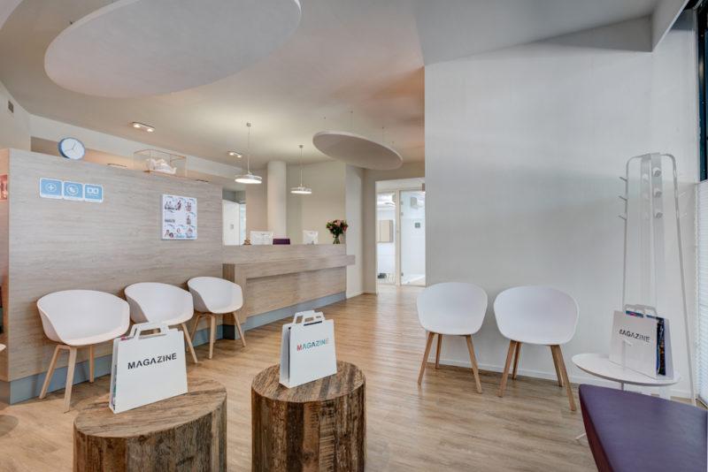 tandarts Tilburg West - wachtkamer Dental Clinics Tilburg Amazone