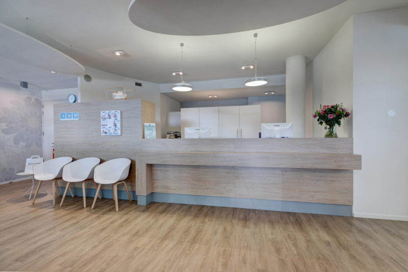 tandarts Tilburg - receptie Dental Clinics Tilburg Amazone
