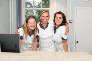tandartspraktijk Amsterdam centrum –receptie Dental Clinics Amsterdam Reguliersgracht