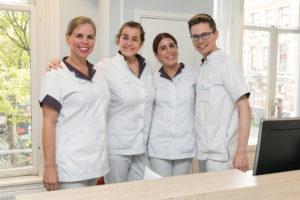 tandartspraktijk Amsterdam centrum – receptie Dental Clinics Amsterdam Reguliersgracht