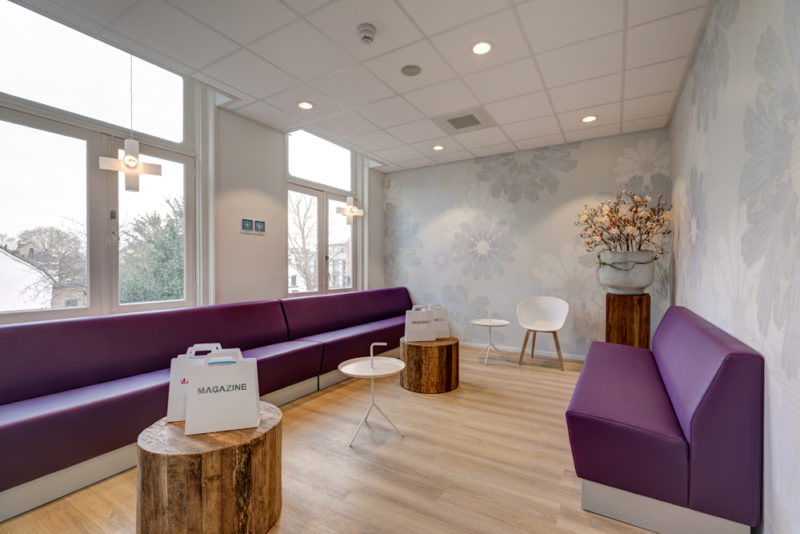 tandartspraktijk Utrecht Oost - wachtruimte Dental Clinics Utrecht Maliebaan