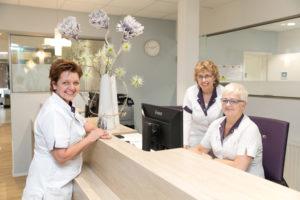 tandartspraktijk Leeuwarden centrum - receptie Dental Clinics Leeuwarden