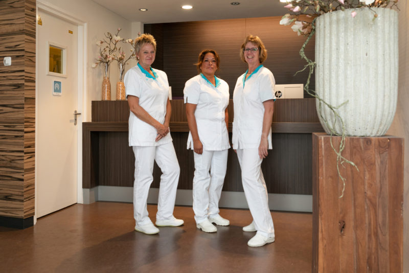 tandartspraktijk Leek - receptie Dental Clinics Leek