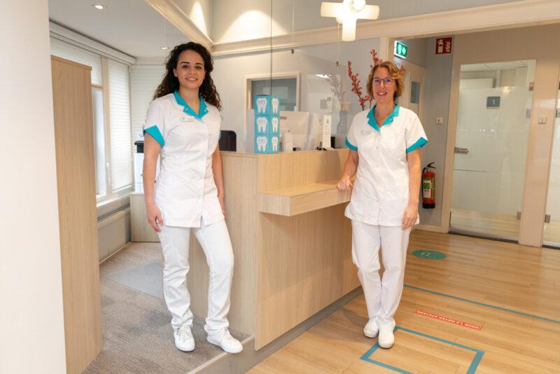 tandarts Rotterdam Hillegersberg - receptie Dental Clinics Rotterdam Berglustlaan