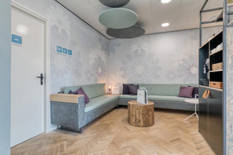 tandartspraktijk Grave Ravelijn - wachtkamer Dental Clinics Grave Ravelijn