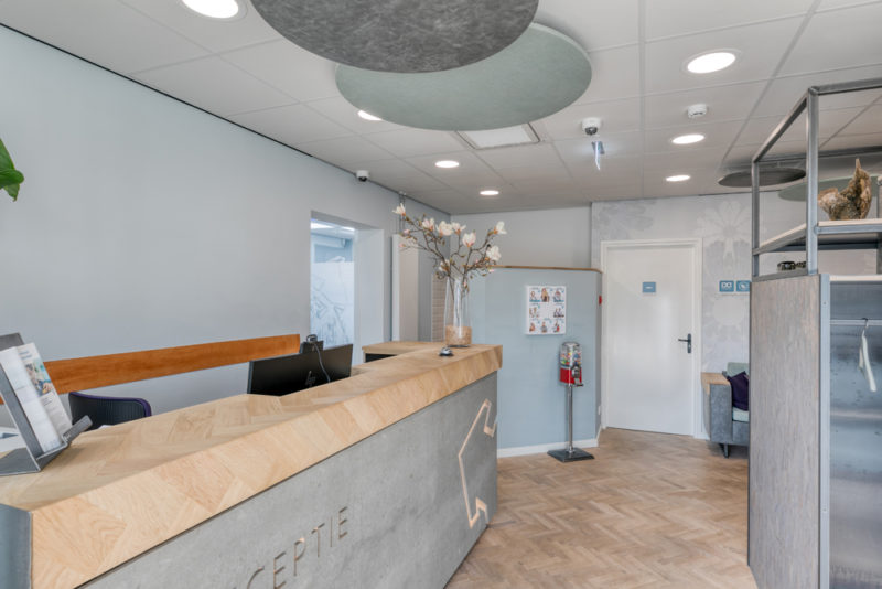 tandartspraktijk Grave Ravelijn - interieur Dental Clinics Grave Ravelijn