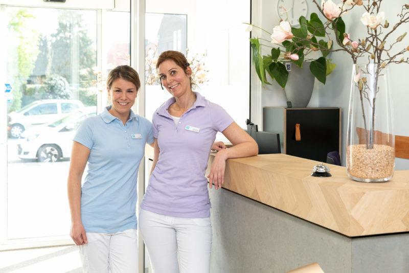 tandartspraktijk Grave Ravelijn - receptie Dental Clinics Grave Ravelijn