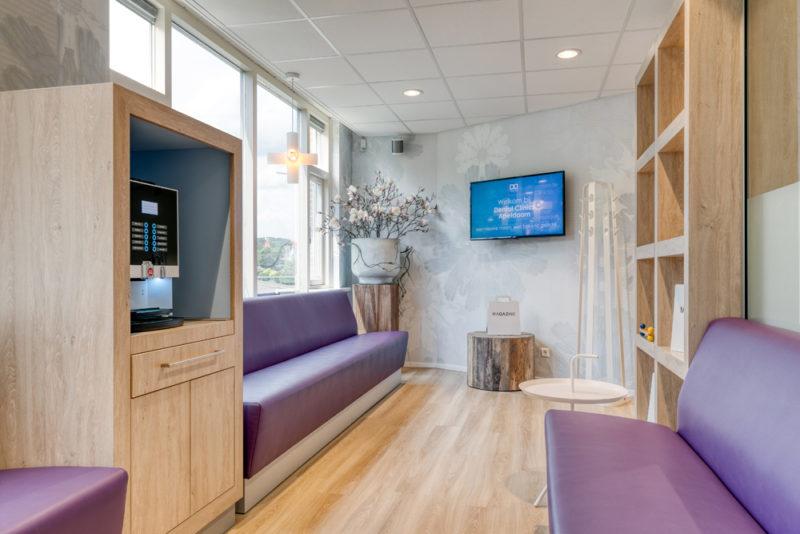 tandartspraktijk Apeldoorn - wachtkamer Dental Clinics Apeldoorn