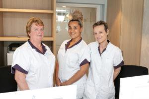 tandartspraktijk Rotterdam-Zuid - receptie Dental Clinics Rotterdam Pleinweg