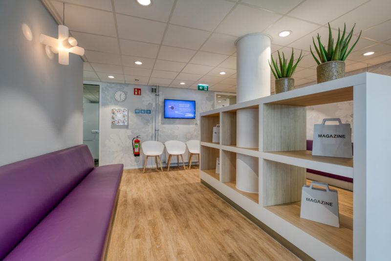 tandartspraktijk Haarlem - wachtkamer Dental Clinics Haarlem
