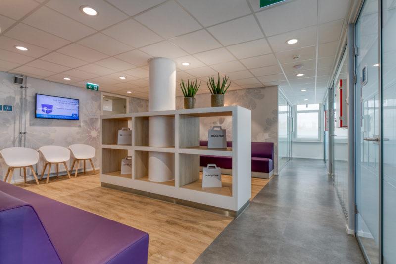 tandartspraktijk Haarlem - wachtruimte Dental Clinics Haarlem