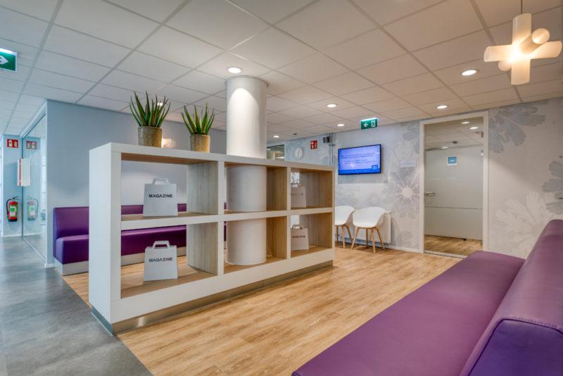 tandartspraktijk Haarlem - interieur Dental Clinics Haarlem