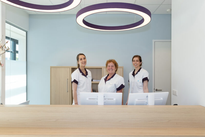 tandartspraktijk Diemen Zuid - receptie Dental Clinics Diemen