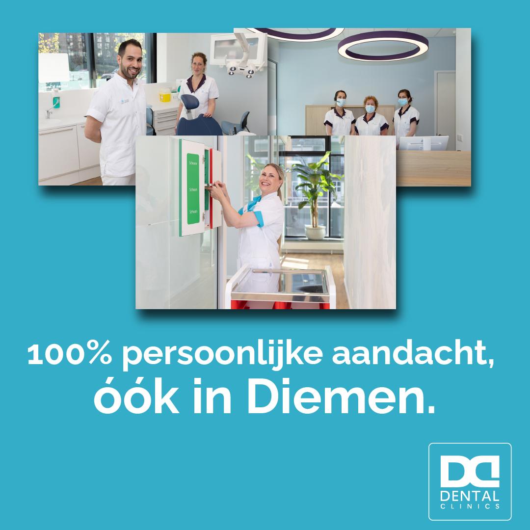 tandartspraktijk Dental Clinics Diemen - persoonlijke aandacht en kwaliteit