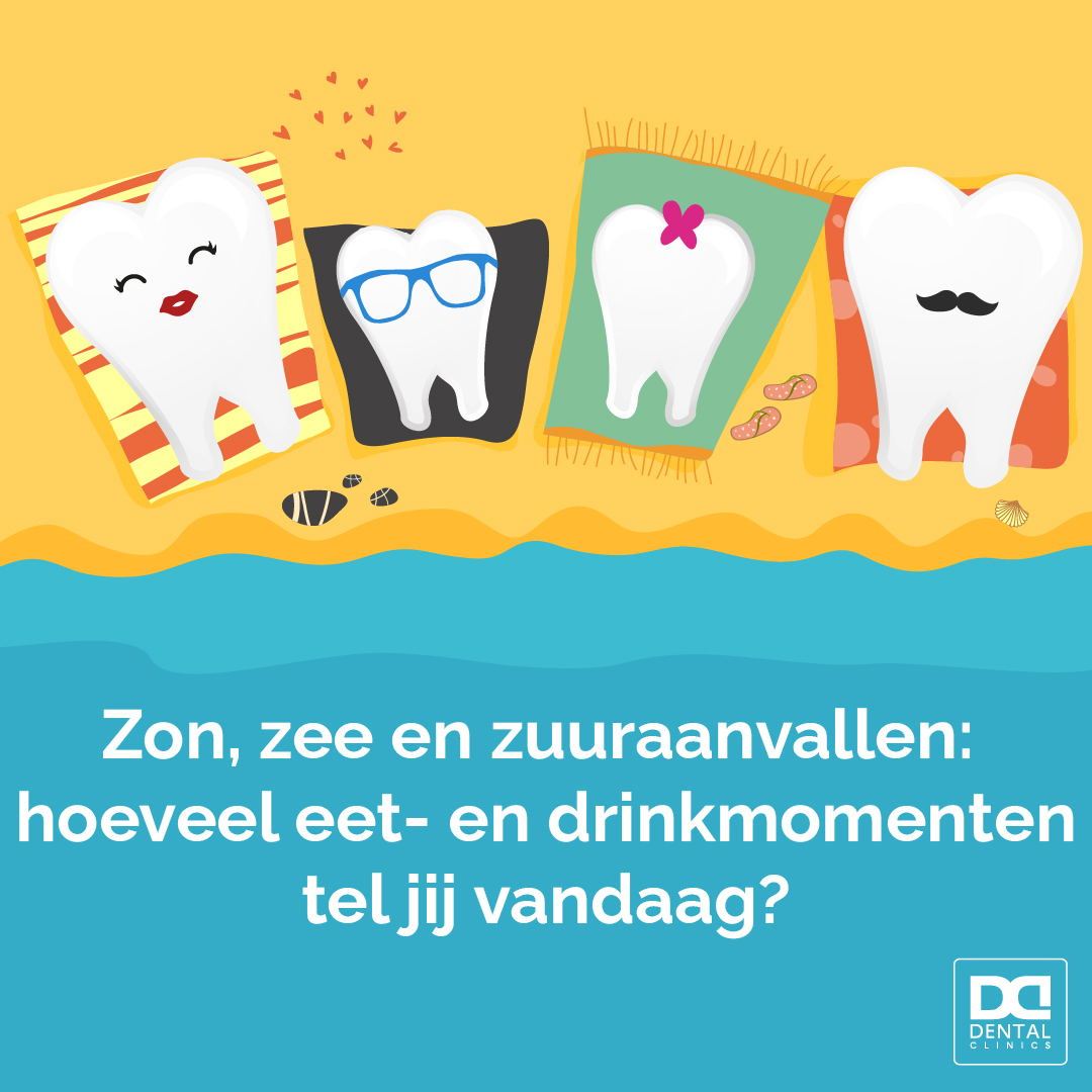 Tandartstip Dental Clinics - voedingsadvies tijdens vakantie