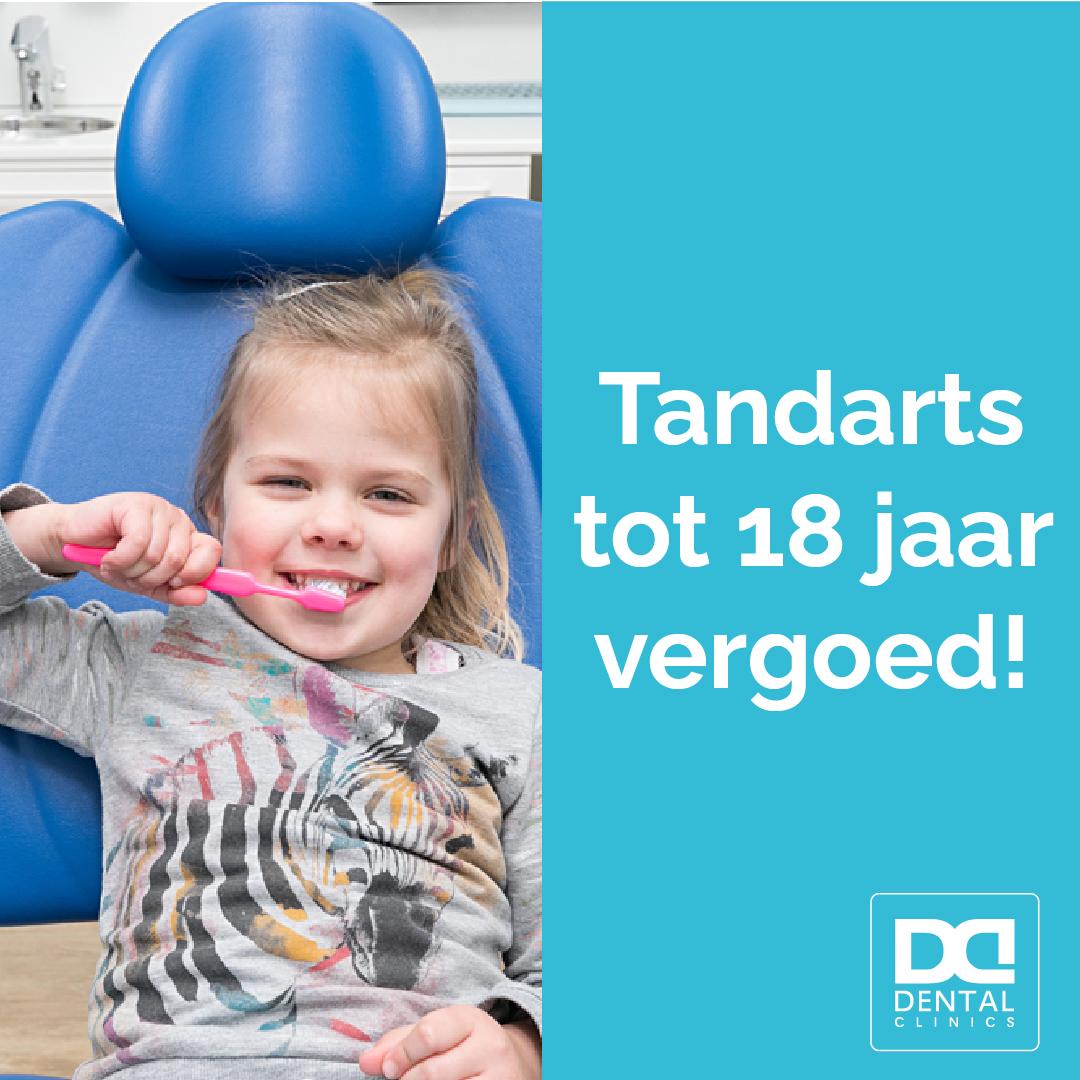 tandarts tot 18 jaar vergoed - tandartspraktijk Dental Clinics