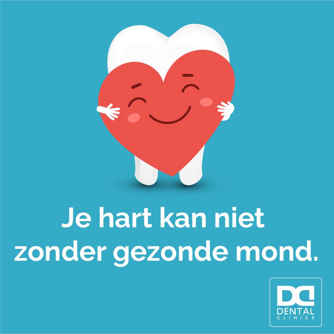 Wereld Hart Dag - impact mondgezondheid op je hart - Dental Clinics