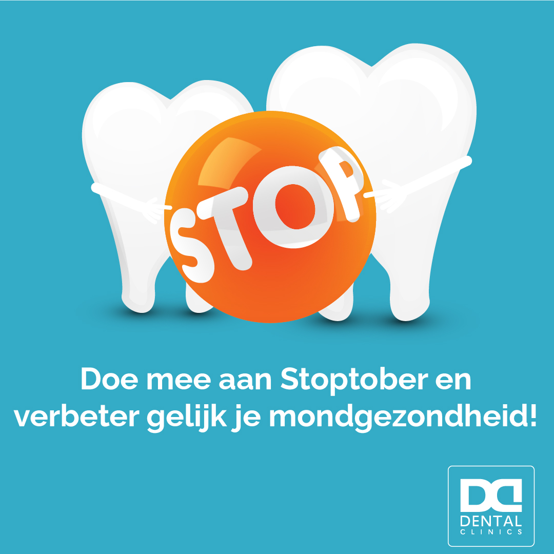 Stoptober - tandartstip Dental Clinics - stoppen met roken